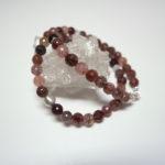 Erdbeerquarz-Halskette